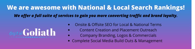 digital goliath service offerings