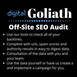 off site Seo audit